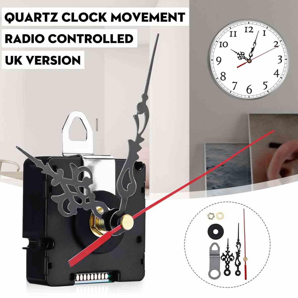 原子電波クォーツサイレント時計ムーブメント機構 Diy キット英国 MSF 信号手アクセサリー