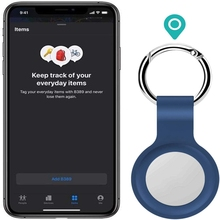 FIt Apple Airtags Liquid Silicone Protective Sleeve For Apple Locator Tracker Anti-lost Device Keychain Protective Sleeve