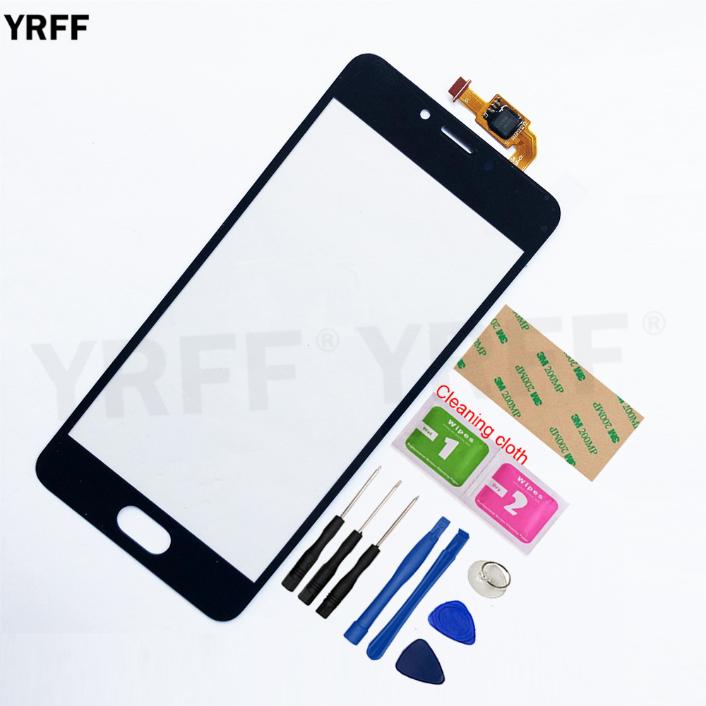 For Meizu M5C M5A Touchscreen For Meilan A5 5C Touch Screen Digitizer R Sensor Glass Panel Assembly Replacement