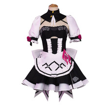 Honkai Impact 3rd Rita Rossweisse Sexy maid outfit Cute Cosplay costume lovely women Dress full sets  A