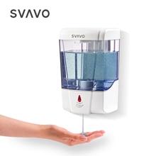 600 Ml Capaciteit Automatische Zeepdispenser Touchless Sensor Handdesinfecterend Wasmiddel Dispenser Wall Mounted Voor Badkamer Keuken