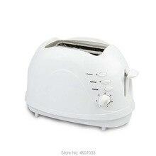 Электрический домашний тостер автоматический прибор для хлеба выпечки машина для завтрака сэндвич с тостом гриль духовка 2 ломтика