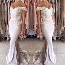 Elegant 2019 Cheap Bridesmaid Dresses Under 50 Mermaid Off T