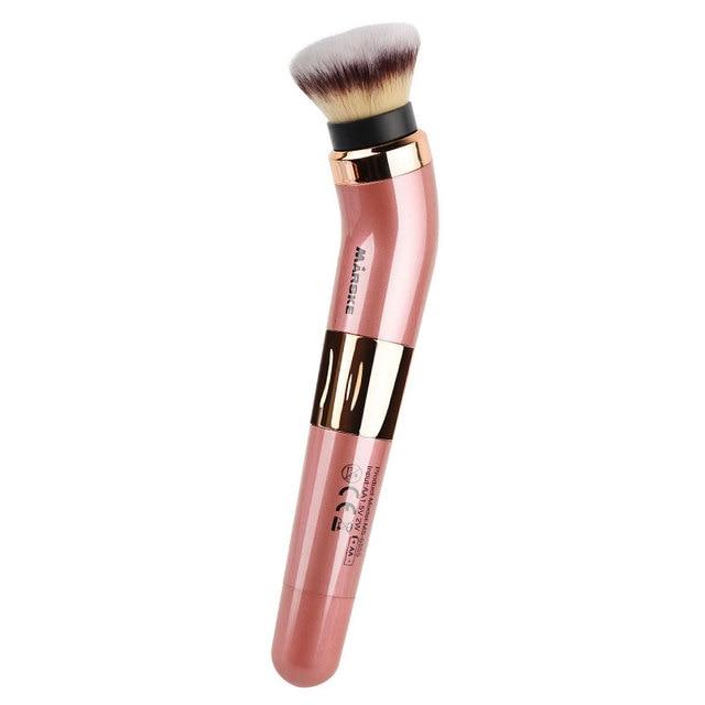Practical Electric Puff Pore Cleaner Blush Powder Vibrating Makeup Brush Beauty Makeup Tool 4