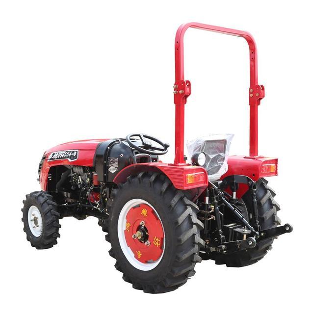 مصغرة جرارات زراعية 4 الدفع الرباعي مزرعة جرار الشاحنات ميمي متعددة الأغراض الآلات الزراعية 3