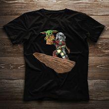 Baby Yoda Star Wars The Mandalorian Boba Fett Lion King Lovely Movie Nice Gift T-shirt printio star wars boba fett