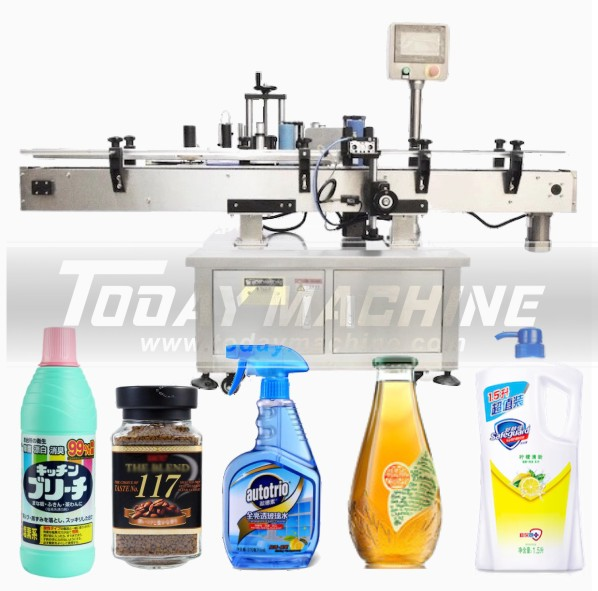 High Speed Automatic Wrap Round Bottle Stickers Labeling Machine for Food Beverage Food & Beverages Machines