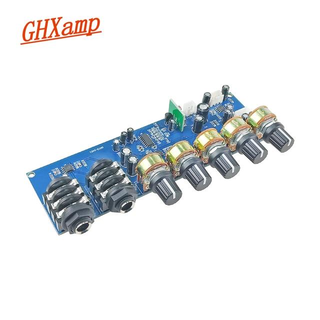 GHXAMP PT2399 가라오케 리버브 마이크 프리 앰프 보드 리버브 앰프 DIY DC12V 내장 부스트 다이나믹 듀얼 P