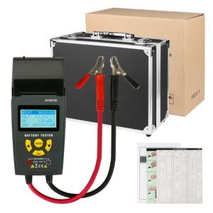 Image 5 - Car Battery Tester With Print 12V 24V Analyzer Lead acid auto CCA IEC EN DIN JIS For Portable Printer Diagnostic Tool DY3015C