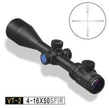Обнаружение VT-2 4-16x50 SFIR HK сетка боковая фокусировка для стрельбы по мишеням охотничий прицел 1 дюйм для страйкбола пневматические пистолеты