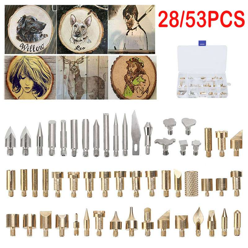 Top Sale^Tip Soldering Pyrography-Tool Iron Welding-Tips Pen for Wood Embossing Craft-Set Artù