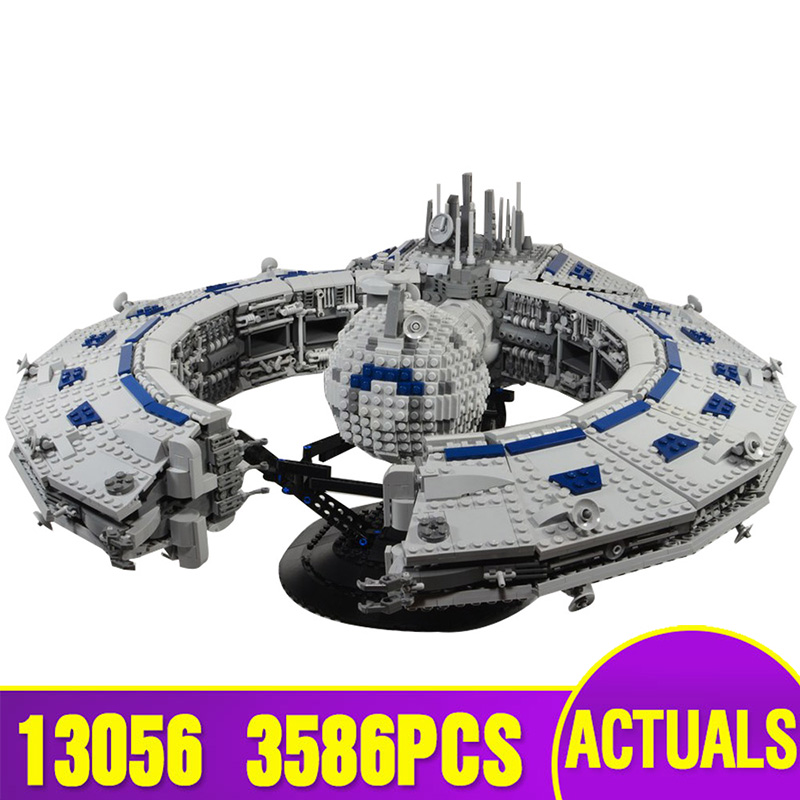 Star Toys Wars Compatible With Legoing MOC-13056 Class Battleship (Droid Control Ship) Building Blocks Kids Christmas Toys Gifts