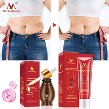 Slimming Cellulite Massage Cream 40g+Body Massage Essential Oil