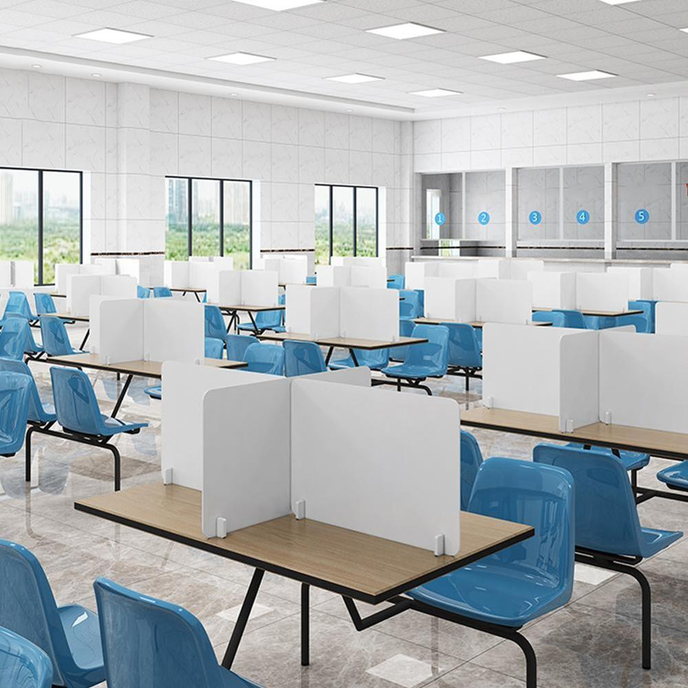 Desk Partition Board Dining Table Isolation Baffle Acrylic Separation Baffle Counter Achieve Everyone Separate To Work Or Meals