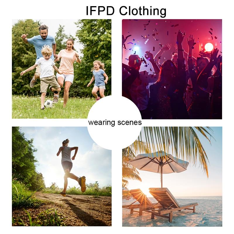 Ifpd eu/us размер 3d печать o образным вырезом футболки кленовый