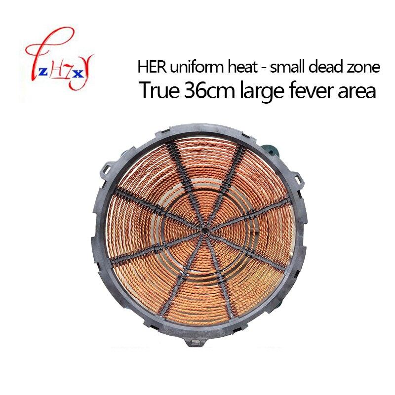 Промышленная вогнутая индукционная плита 8 кВт, электромагнитная плита, промышленная электрическая печь для жарки, приготовление пищи с подогревом, 1 шт. 2