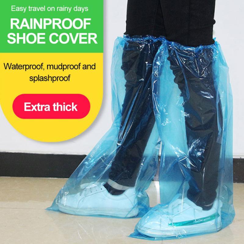 Waterproof Disposable Elastic Latex Boot Cover Rain Snow Non-slip Shoe Covers WP