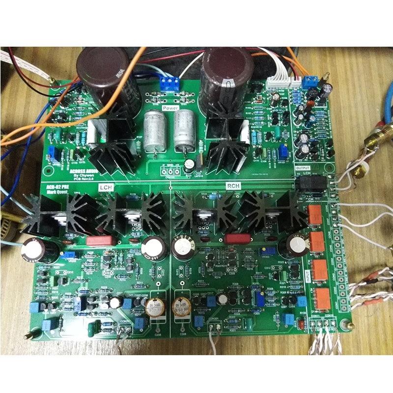 Pre-Amp FET Differential Input Preamplifier Board PCB For Mark Levinson ACR-MQ02 Preamplifier Bare Board