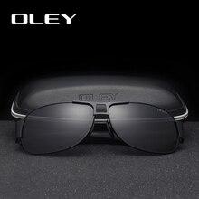 OLEY Fashion Polarized Pilot Sunglasses Men Women Brand Desi