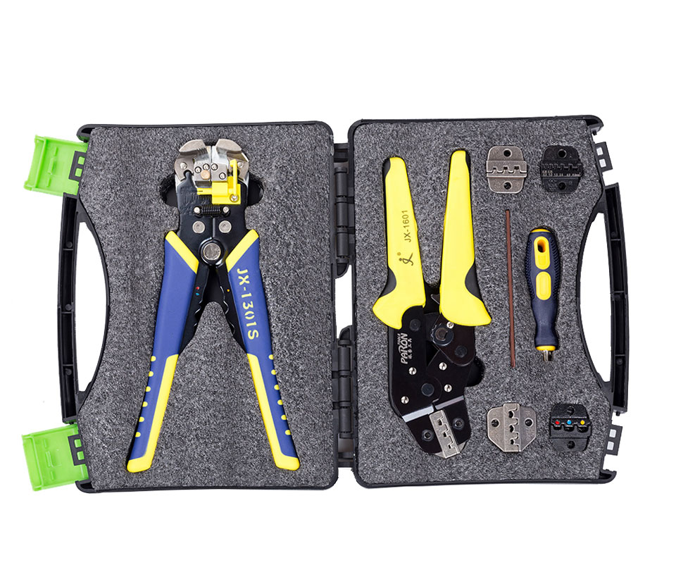 5 in 1 Professional Wire Crimpers Engineering Ratcheting Terminal Crimping Plier Bootlace Ferrule Crimper Tool Cord End Terminal
