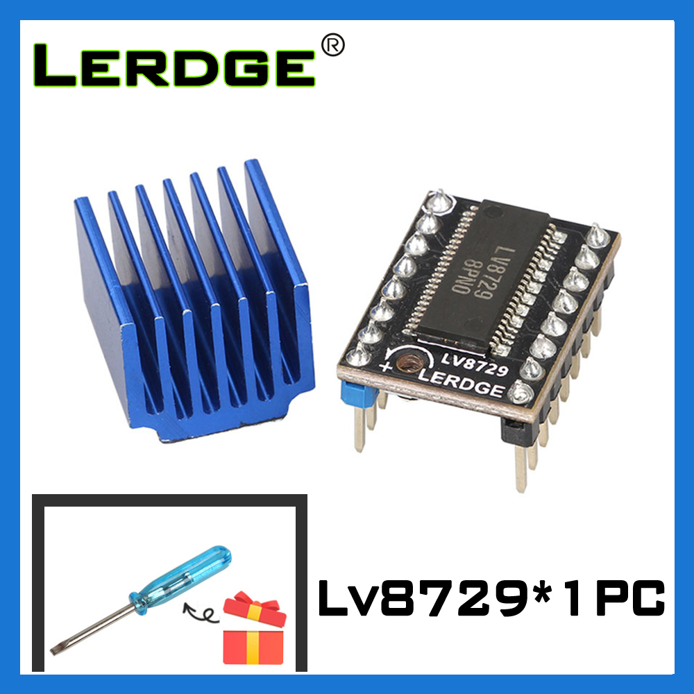 3D Printer DIP Quiet LV8729 V1.0 High-subdivision Stepper Motor Driver Module D