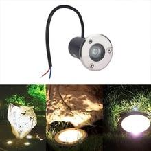 IP67 Waterproof 1W AC 12V LED Outdoor Garden Path Floor Underground Buried Yard Spot Landscape Light