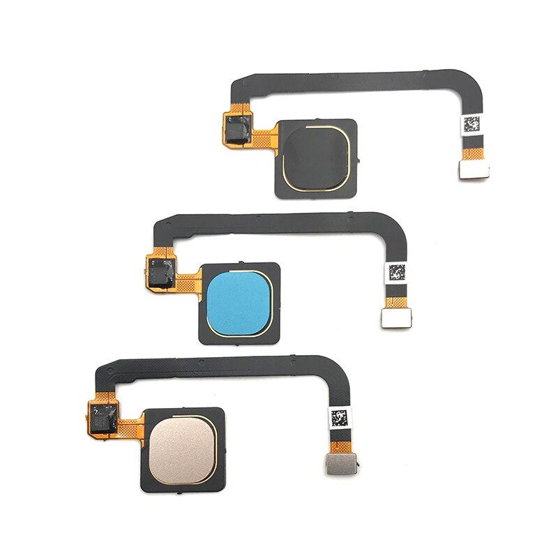 10 pcs/lot, 100% testé Original pour Xiao mi mi Max 3 Max3 capteur d'empreintes digitales accueil retour clé Menu bouton Flex câble ruban - 2