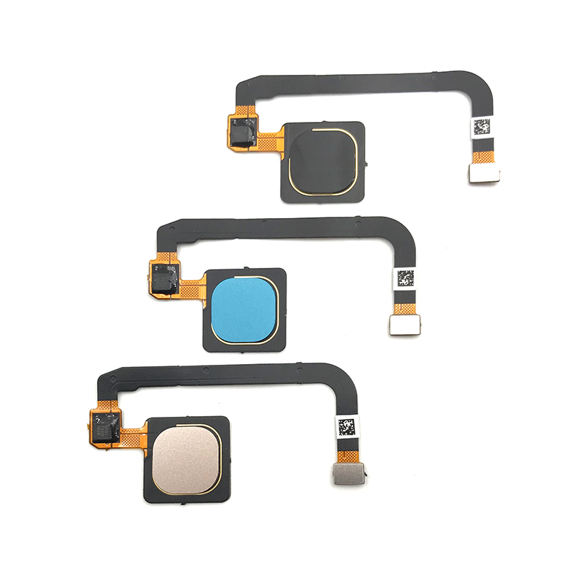 10pcs/lot,100% Tested Original For Xiaomi Mi Max 3 Max3 Fingerprint Sensor Home Return Key Menu Button Flex Cable Ribbon - 2