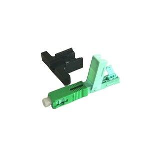 Image 3 - Conector rápido FTTH de fibra óptica integrado, fibra UPC SC, montaje de campo, conector óptico de un solo modo, 53MM