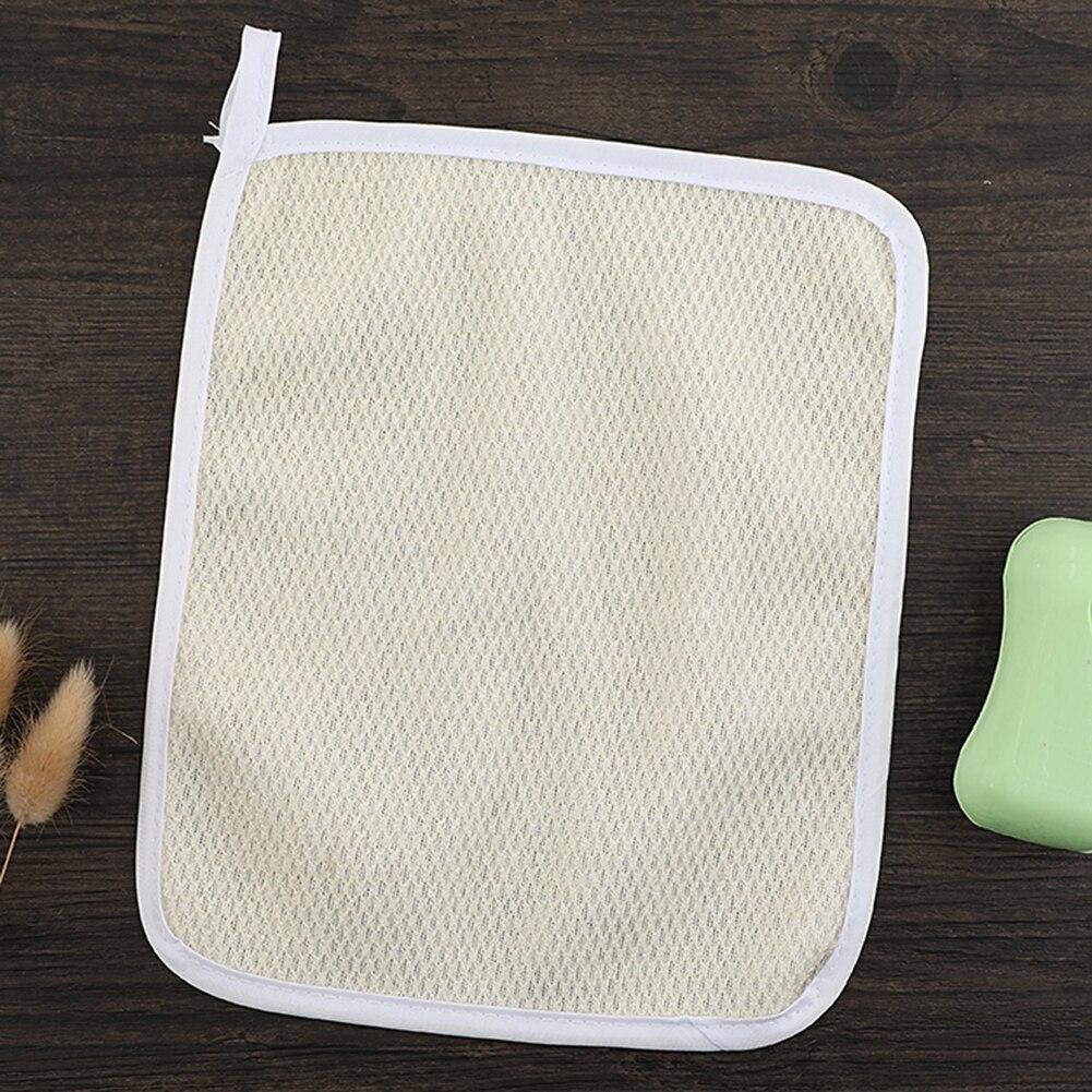 1pcs Nylon Blister Towel Handmade Soap Crepe Facial Cleanser Mud And Foam Bath Towel