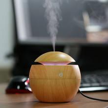 USB Мини Арома увлажнитель с эфирными маслами диффузор ультразвуковой холодный туман увлажнитель воздуха humificador с 7 цветов изменения увлажни...