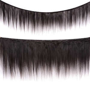 Image 2 - JSDShine 8 38 40 inch Brazilian Straight Hair Weave Bundles Natural Color 100% Human Hair weave 1/3/4 Piece Remy Hair Extensions
