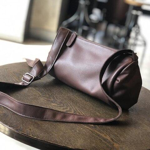 Bolsas de Moda Bolsas de Couro Mulheres Mensageiro Genuíno Macio Retro Senhora Tamanho Médio Capacidade Tote Bolsa Venda Quente Bolsas Crossbody