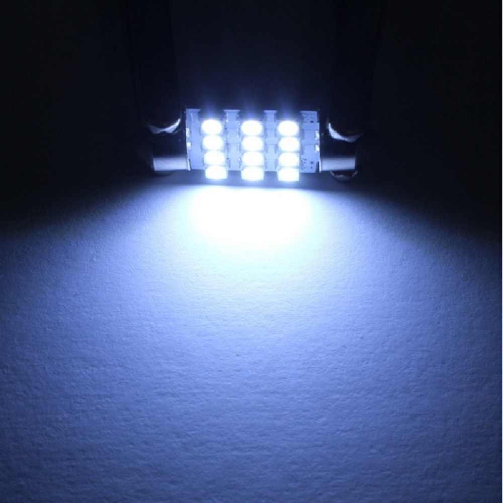 11 セットホワイト Led ライトインテリアパッケージ 10 & 36 ミリメートル & 39 & 41 地図ドームフォルクスワーゲンゴルフ saveiro Eos Gol ボラのパサートポロ 2000-2019