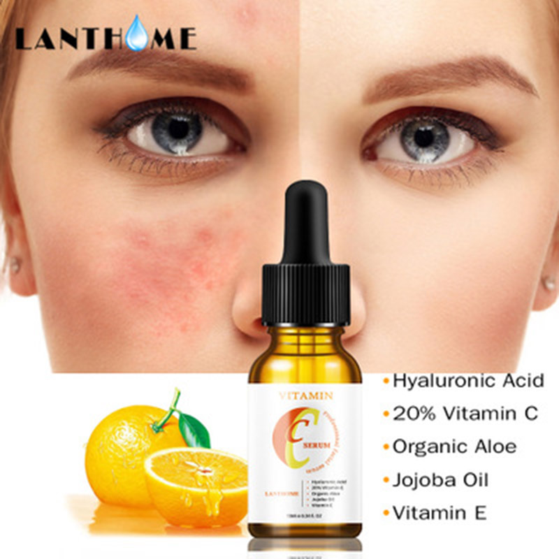 Vitamin C Essence Smoothing Anti Wrinkle Acne Removal Acid Skin Care Massage MH88