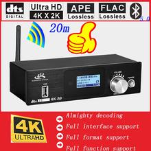 Bluetooth DAC 4K * 2K HDMI na HDMI ekstraktor-konwerter cyfrowy SPDIF HDMI DTS 5 1 dekoder dźwięku konwerter biegów HDMI ARC Audio tanie tanio YPAY Pulpit 5 6448 MHz (DSD128) USB Typu B Koncentryczne 192 kHz Metal 3 5mm 24-bit HD915 DTS DTS-ES AC3 WAV FLAC APE AAC WMV MP3 MP4