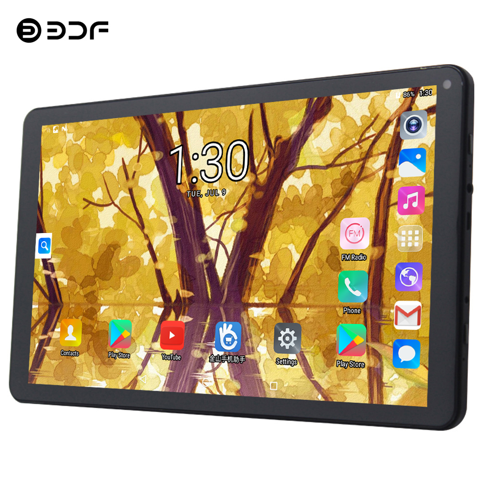 BDF Newest 9 Inch Tablet Pc Android 5.1 RK3126 Quad Core 1GB/8GB Tablets WIFI  Free Shipping Christmas Gift Tab