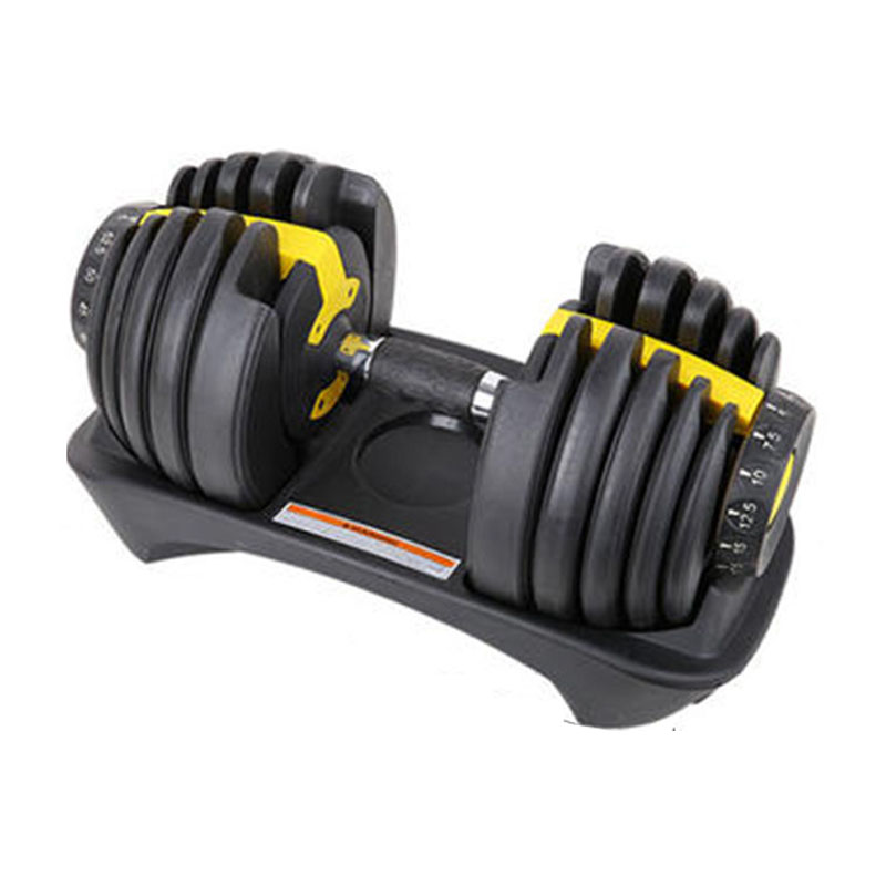 Dumbbells For Men's Fitness Muscle Trainer Adjustable Weight 15 Levels Household Weight Equipment Dumbbells For Weightlifting XB