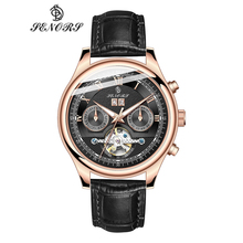 Senors Brand Luxury Men Watches Automatic Black Watch Men St