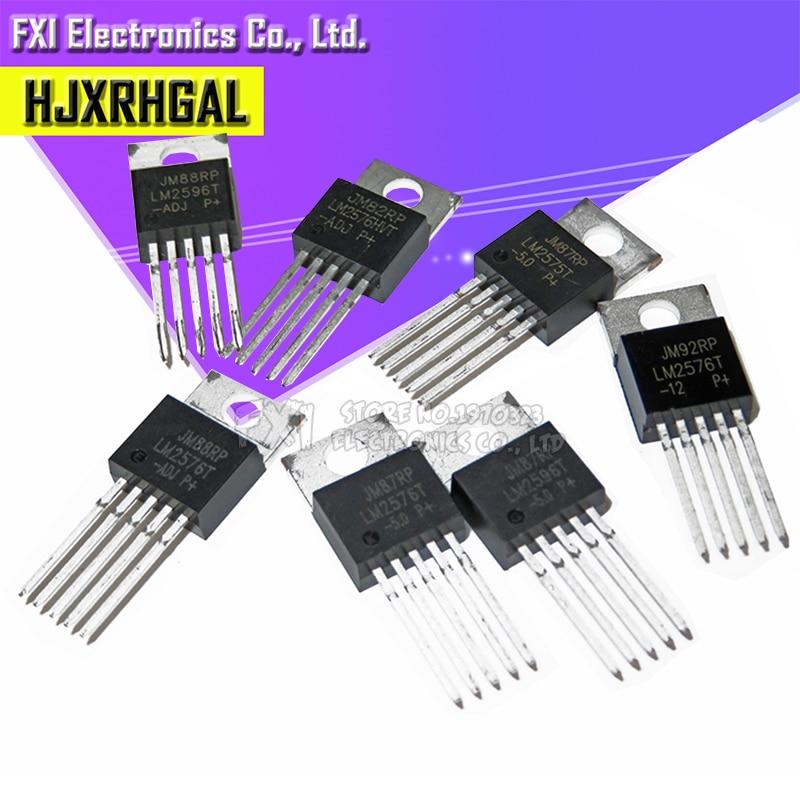 10PCS LM2576T-3.3 LM2576T-5.0 LM2576T-12 LM2576T-ADJ TO-220