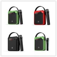 Subwoofer Outdoor Speaker Bluetooth 5.0 25W sound bar subwoofer box Karaoke Speaker FM Radio Bluetooth speakers