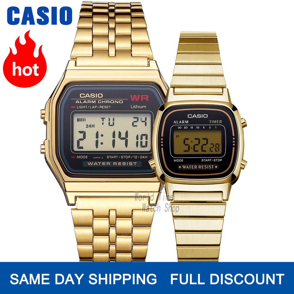 Casio Watch Men Clock Women Couple Watch Set Top Luxury Quartz Ladies Wrist Watch Sport Waterproof LED Relogio Digita Men Watch