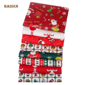 Cartoon Christmas Series Twill Cotton Fabric Printed Cloth For Handmade DIY Sewing Quilting Baby&Child Textile Material,By Meter