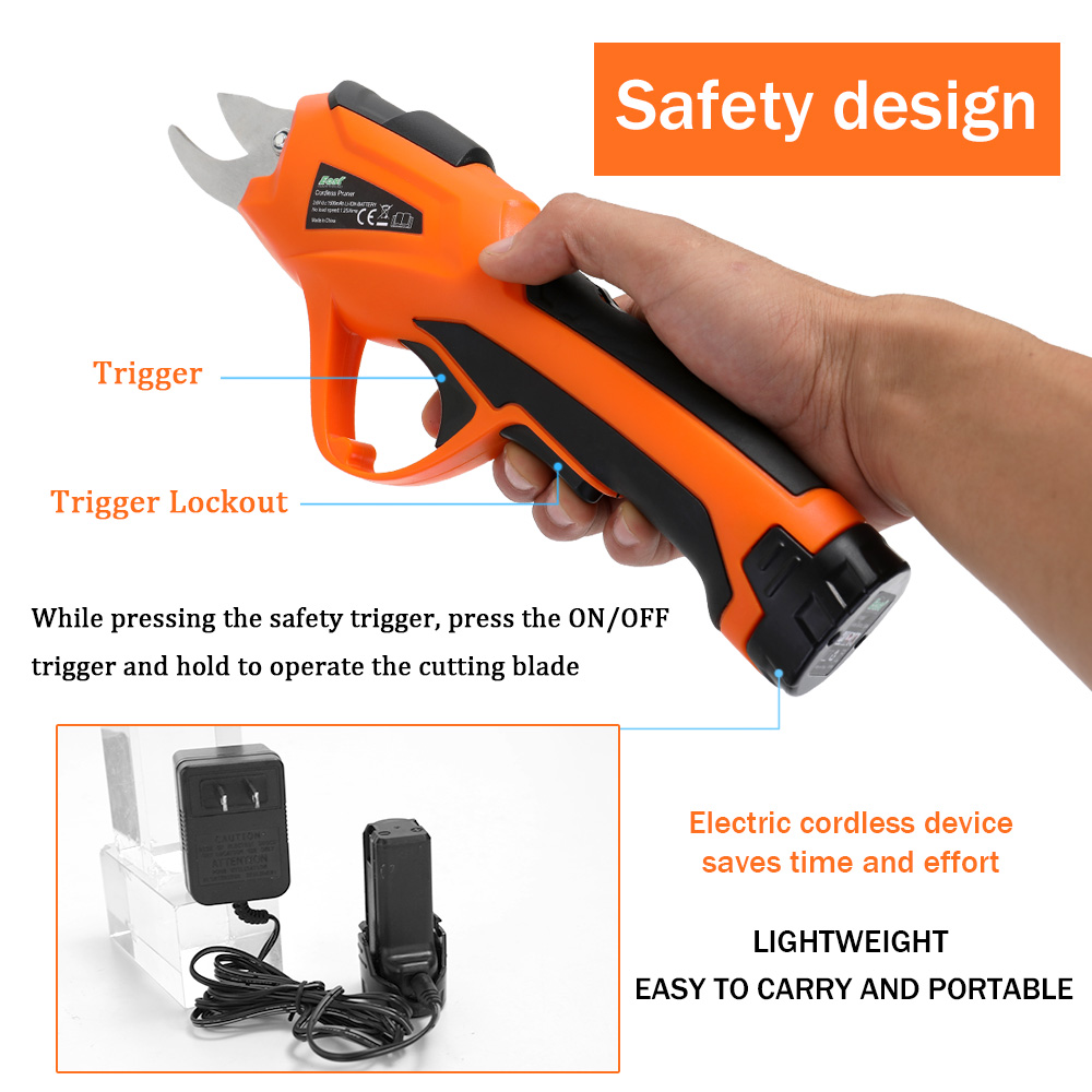 Person - 3.6V Electric Branch Cutter Pruning Shear