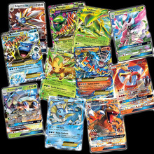Новинка TOMY 60 шт Французский Покемон карта с 60 GX торговые карты игра детская игрушка
