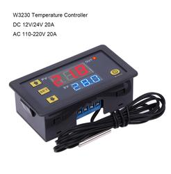 W3230 Digital Temperature Controller Thermostat DC12V/24V AC110V-220V 20A LED With Heating/Cooling Control Instrument