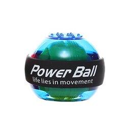 Led Wrist Ball Trainer Ontspannen Gyroscoop Bal Strengthener Spier Power Ball Gyro Arm Oefening Machine Gym Fitness Apparatuur