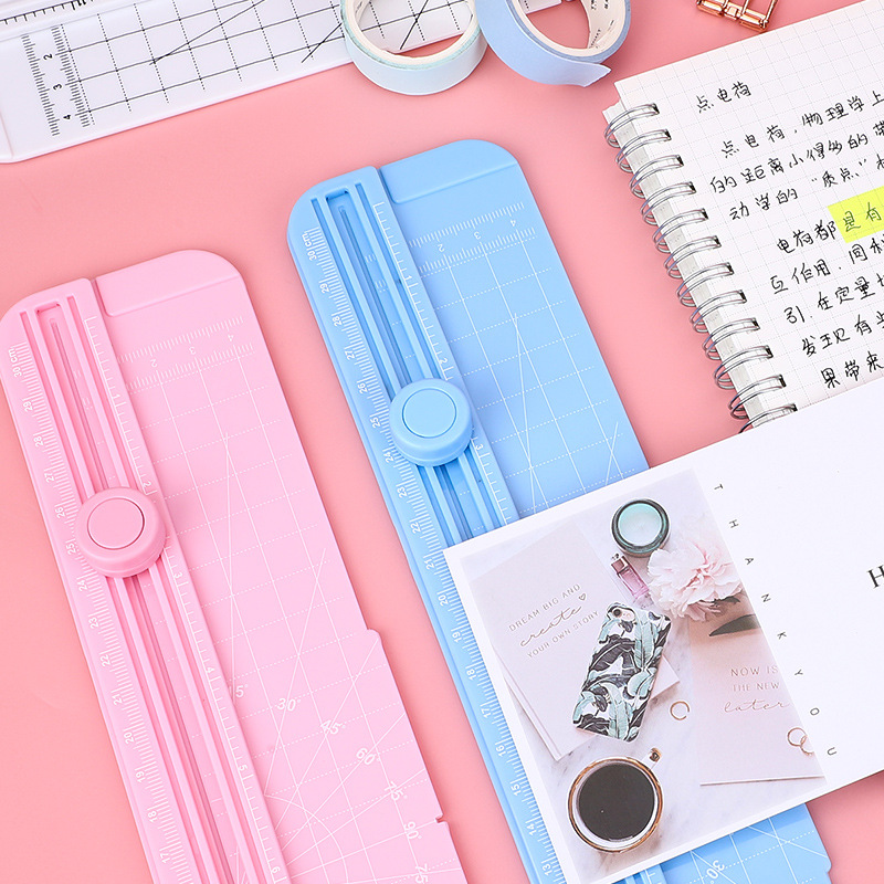 2020 New Office Draw Ot410 Paper Cutting Artifact Photo A4 Photo Cutting Knife Manual Abs Plastic Paper Cutter Household Small