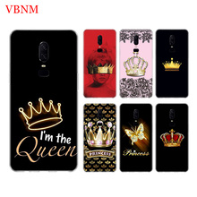 Mom Queen Princess Crown Phone Back Case For OnePlus 7 Pro 6 6T 5 5T 3 3T 7Pro 1+7 Art Gift Pattern Customized Cases Cover Coque цена