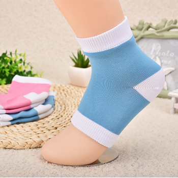 Heel Dry Hard Skin Protector Anti Craking Accessories Reusable Moisturizing Socks Soft Massager Smooth SPA Gel Socks Pain Relief image